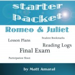 Romeo and Juliet Starter Packet Cover