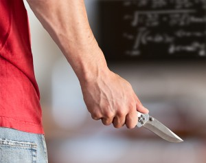 A Student Pulls Out a Knife: What Do You Do?